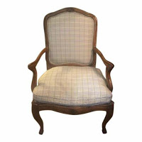 French Country Dining Chairs In Ralph Lauren Fabric